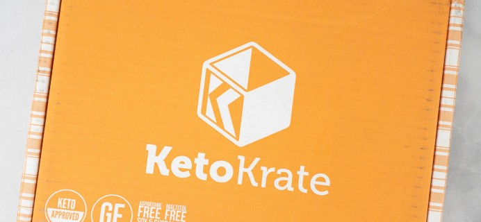 KetoKrate March 2021 Subscription Box Review + Coupon