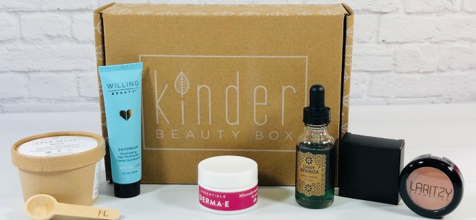 Kinder Beauty Box March 2021 Review + Coupon – Shine On