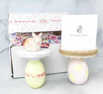 Lil Grace Box by Confetti Grace March 2021 Craft Subscription Box Review