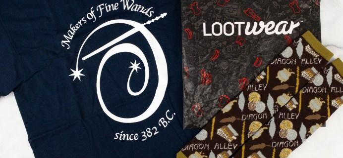 Loot Wear Wizarding World Wear Review – February 2021