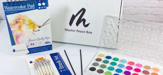 Master Peace Box March 2021 Subscription Box Review