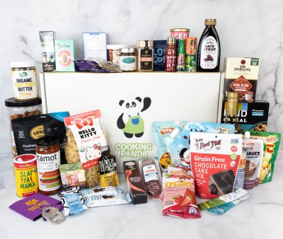 Cooking Panda Box Spring 2021 Foodie Subscription Box Review