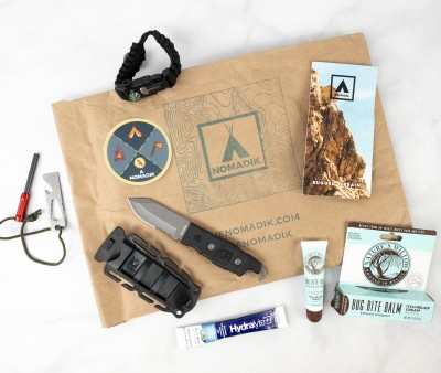 Nomadik May 2021 Subscription Box Review + Coupon – Rugged Terrain