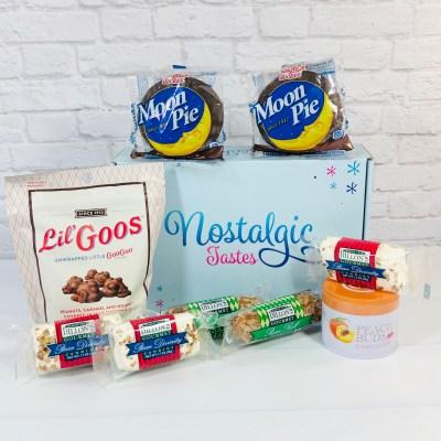 Nostalgic Tastes Subscription Box Review – February 2021