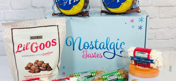 Nostalgic Tastes Subscription Box Review – February 2021