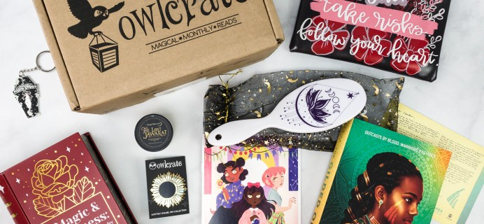 OwlCrate February 2021 Review + Coupon – MAGIC UNLEASHED!
