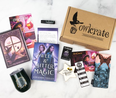 OwlCrate March 2021 Review + Coupon – OF WITCHES AND WONDER!