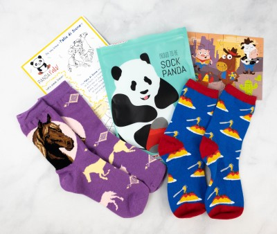 Panda Pals Kids Sock Subscription Review + Coupon –  March 2021