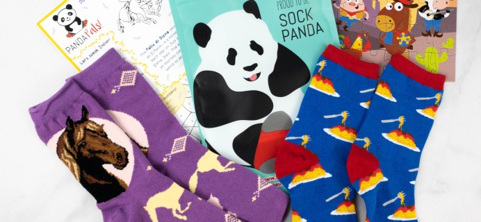 Panda Pals Kids Sock Subscription Review + Coupon –  March 2021