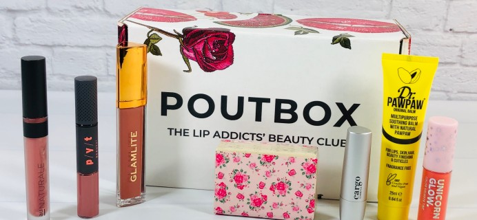 Poutbox Review + Coupon – March 2021