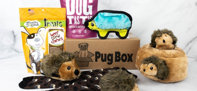 Pug Box Review + Coupon – February 2021