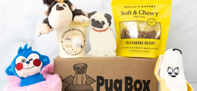 Pug Box Review + Coupon – March 2021