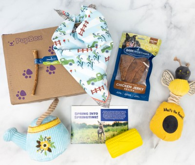 PupBox March 2021 Subscription Box Review + Coupon!