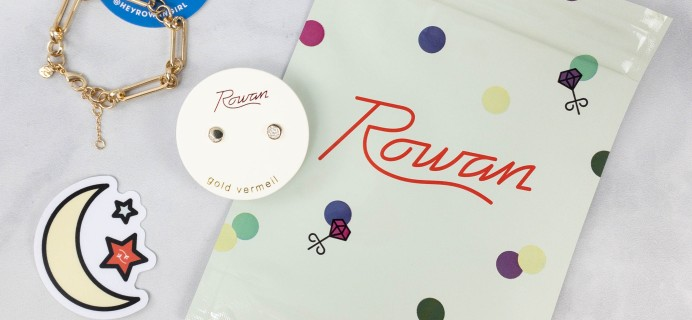 Rowan Earring Club Review – March 2021
