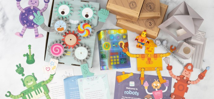 Sago Mini Box Review + Coupon – ROBOTS