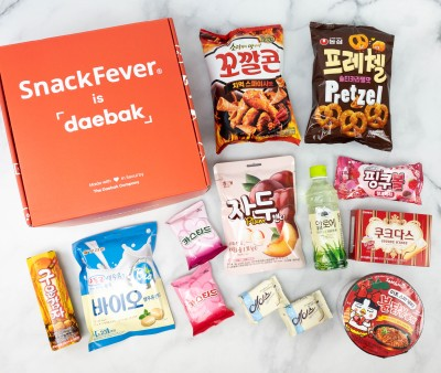 Snack Fever Review + Coupon – March 2021 Deluxe Box!