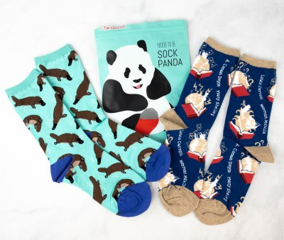 Sock Panda Tweens March 2021 Subscription Review + Coupon