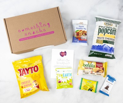 Something Snacks March 2021 Subscription Box Review + Coupon