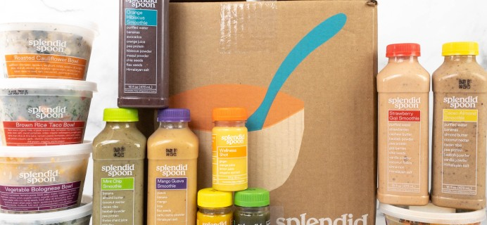 Splendid Spoon COMFORT COLLECTION Review + Coupon