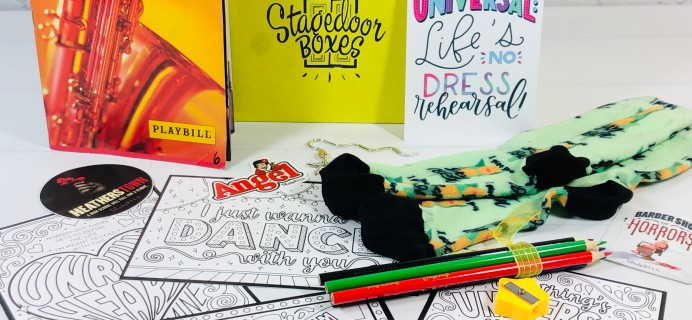 Stagedoor Boxes Subscription Box Review – March 2021