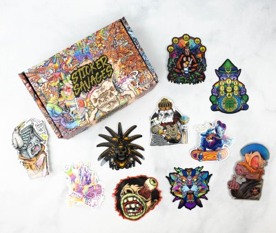 Sticker Savages March 2021 Subscription Box Review + Coupon