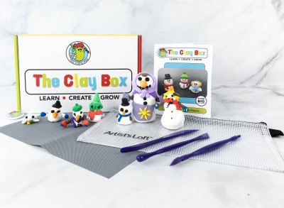 The Clay Box: SNOW PEOPLE Box Review