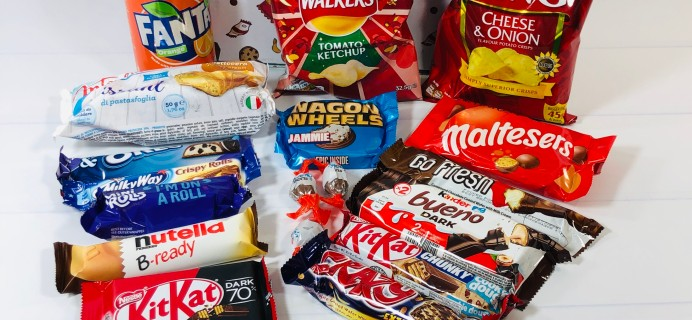 Try My Snacks Subscription Box Review: February 2021 GERMANY
