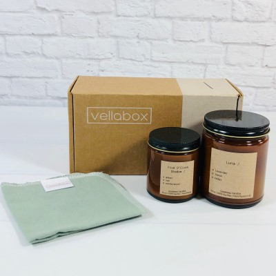 Vellabox Candle Subscription Box Review + Coupon – March 2021