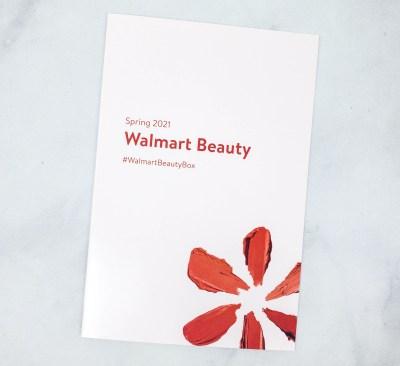 Walmart Beauty Box Review – Spring 2021 CLASSIC Box