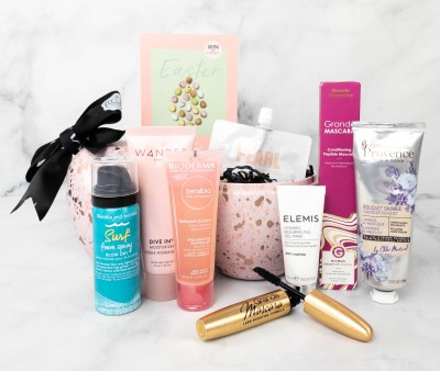 GLOSSYBOX Easter Egg Limited Edition Box 2021 Review