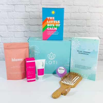 Loti Wellness Box Review + Coupon – RELAX & UNWIND Box!