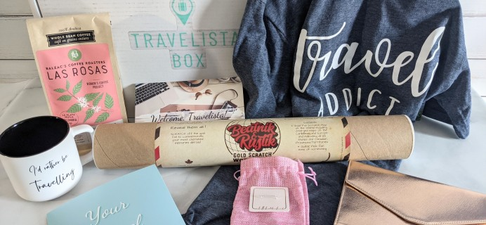 Travelista Box Review + Coupon – March 2021