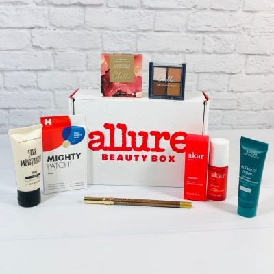 Allure Beauty Box April 2021 Review & Coupon
