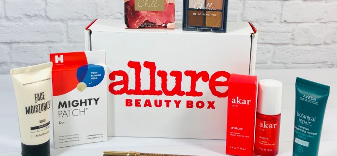 Allure Beauty Box April 2021 Review & Coupon