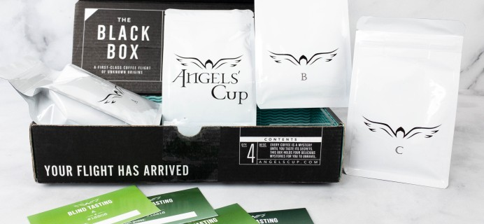 Angels' Cup Subscription Review & Coupon – THE BLACK BOX