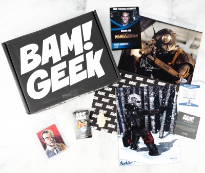 The Bam! Geek Box March 2021 Subscription Box Review