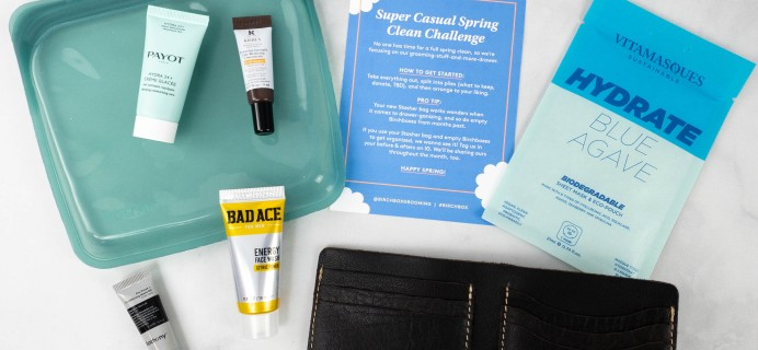 Birchbox Grooming Review + Coupon – April 2021