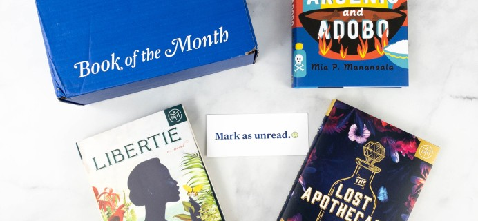 Book of the Month April 2021 Subscription Box Review + Coupon