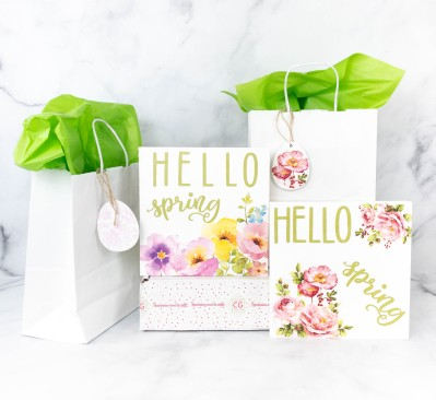 Confetti Grace March-April 2021 Craft Subscription Box Review