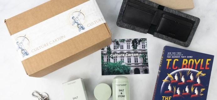 Culture Carton BOYLE Box Review + Coupon – April 2021