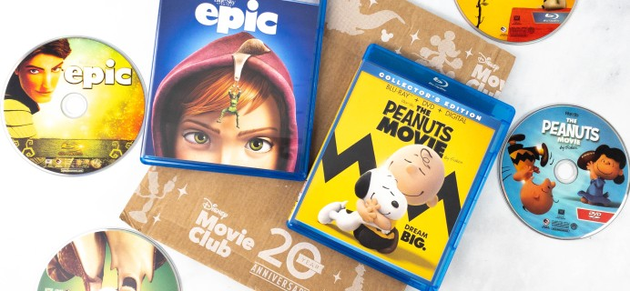 Disney Movie Club Review + Coupon – The Peanuts Movie