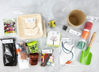 Endless Mountain Learning Center Subscription Box Review – Spring Activity Kit
