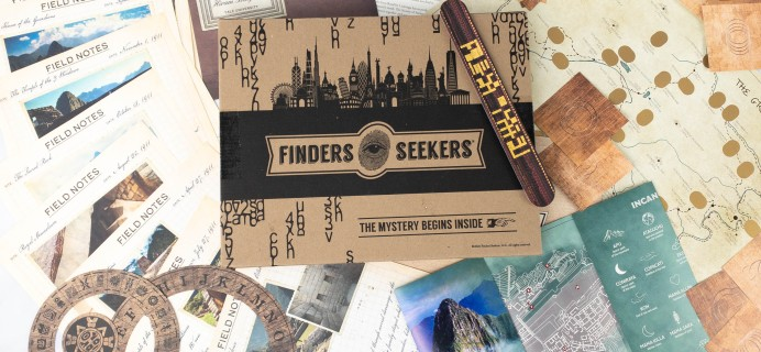 Finders Seekers Subscription Box Review + Coupon – PERU