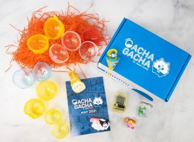 Gacha Gacha Crate May 2021 Subscription Box Review + Coupon