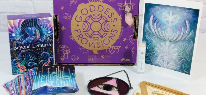 Goddess Provisions April 2021 Subscription Box Review
