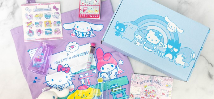Hello Kitty and Friends Box Review  + Coupon – February 2021