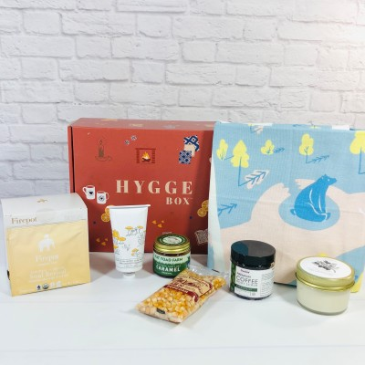 Hygge Box Review – April 2021 Deluxe Box