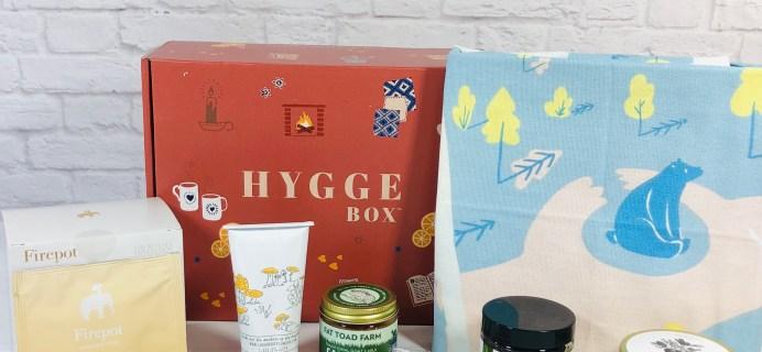 Hygge Box Review – April 2021 Deluxe Box