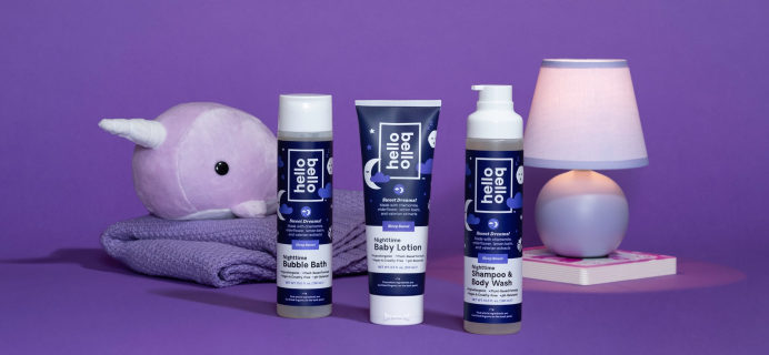 Support Better Bedtimes with the Hello Bello Sleep Sweet Nighttime Collection
