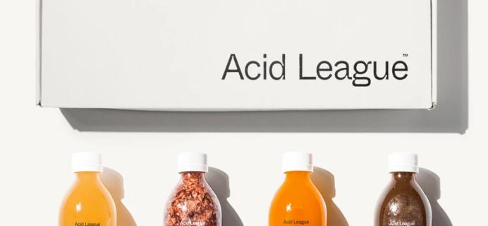 Spring Time Shrub Time: Acid League Shrub Syrup Kit Available Now!
